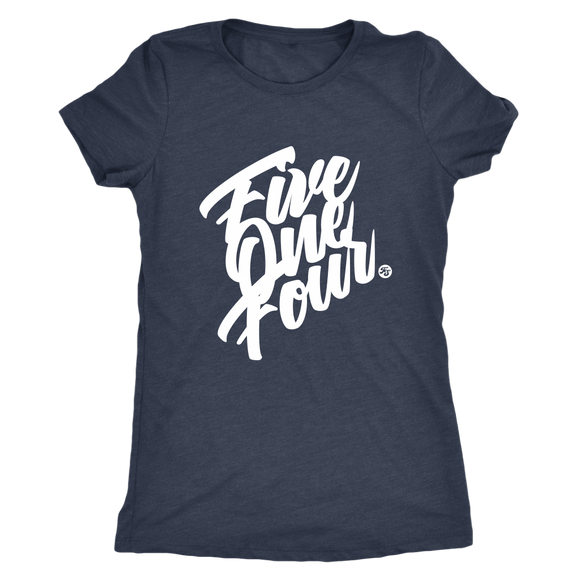 FIVE ONE FOUR - WOMEN'S TEE - True Story Clothing