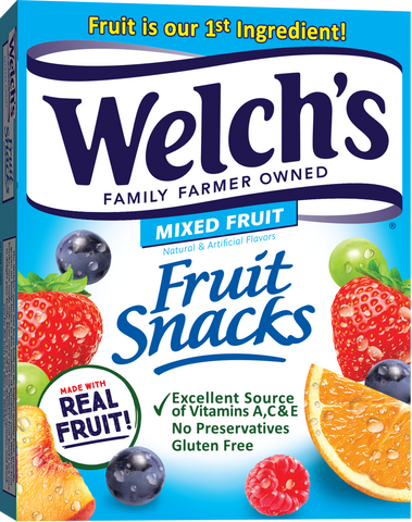 real fruit nutrition label callout can be misleading