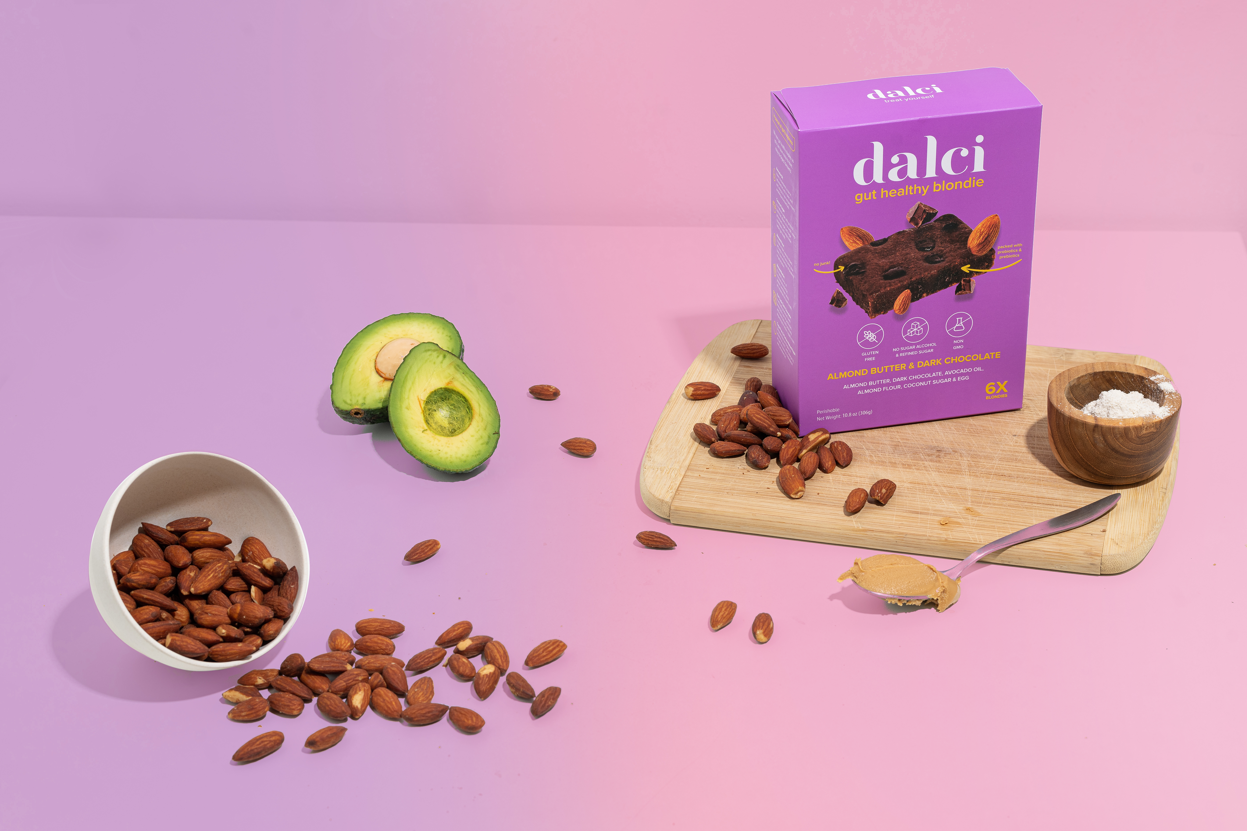 gluten-free, paleo approved, non-gmo brownies