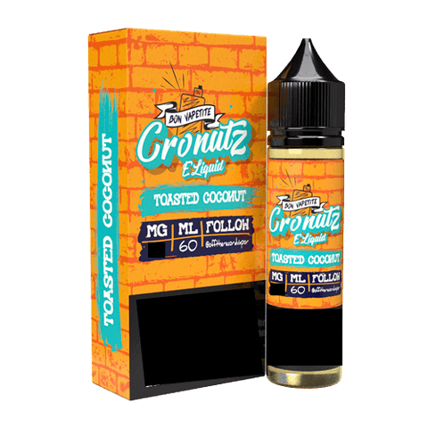 Cronutz E-liquids 60ml - Toasted Coconut