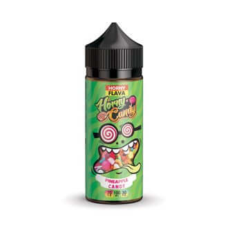 Horny Flava Candy 120ml - Horny Pineapple Candy