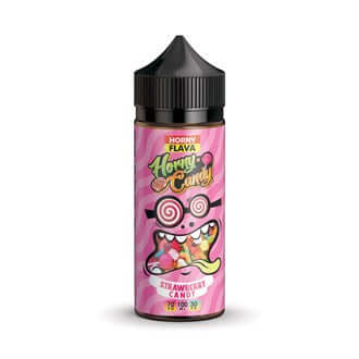 Horny Flava Candy 120ml - Horny Strawberry Candy
