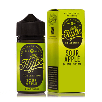 The Hype 100ml SOUR APPLE
