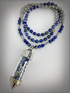 RAW COLLECTION- Lapis Stone Necklace