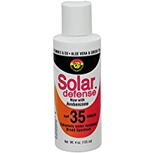 Solar Defense Sunblock SPF 35 4 oz.