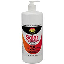 Solar Defense Sunblock SPF 35 32 oz.