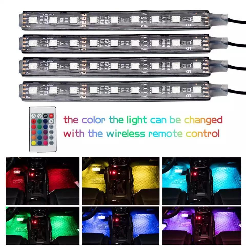 LED Feed Car Interior LED Strips
