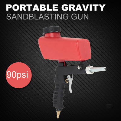 Portable Gravity Sandblaster-My Tool Bucket