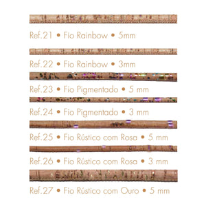 Cork cord for Jewelry Wholesale