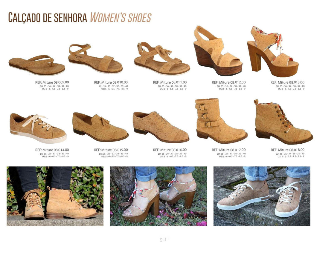Cork Shoes | Women | Tradition