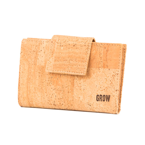 444 Cork Wallet for Women