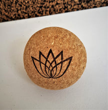 Yoga Massage ball, Cork Ball, Relaxing Ball, Yoga Products, Made in Portugal