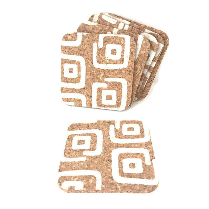 Cork Coasters / Pack of 6 units