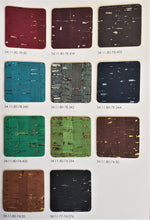 Cork fabric Wholesale M2 Rustic Metal colors