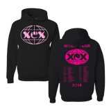 Pink and Black World Tour Hoodie