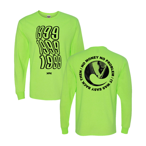 Neon Green Long Sleeve Tee