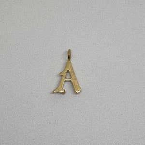 Alphabet pendants