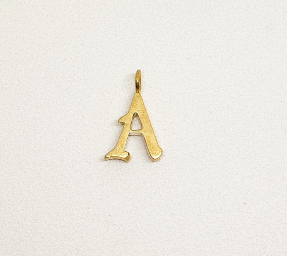 9ct Gold Alphabet