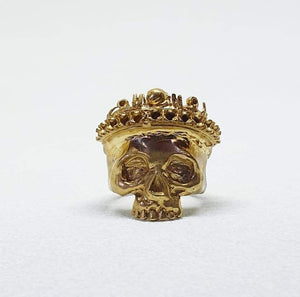 9ct King Skull Ring