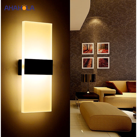 Image of Modern Wall Light Led Indoor Wall Lamps Led Wall Sconce Lamp Lights for Bedroom Living Room Stair Mirror Light Lampara De Pared - Gorgeos Store