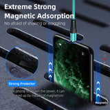 Liquid Silicone Magnetic Cable Micro USB Type C Phone Charging For iPhone Samsung Huawei Microusb USBC Magnet Charger USB Cable