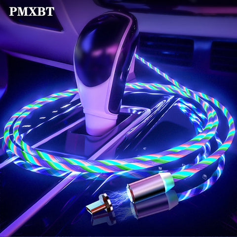 Magnetic USB LED Cable Fast Charging - Up-to-the-minute