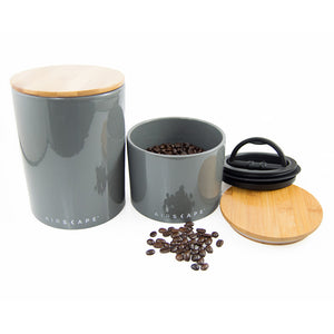 Ceramic Vacuum-Seal Whole Bean Coffee Storage