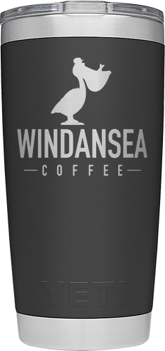 Windansea Laser Engraved YETI  20 oz Tumbler