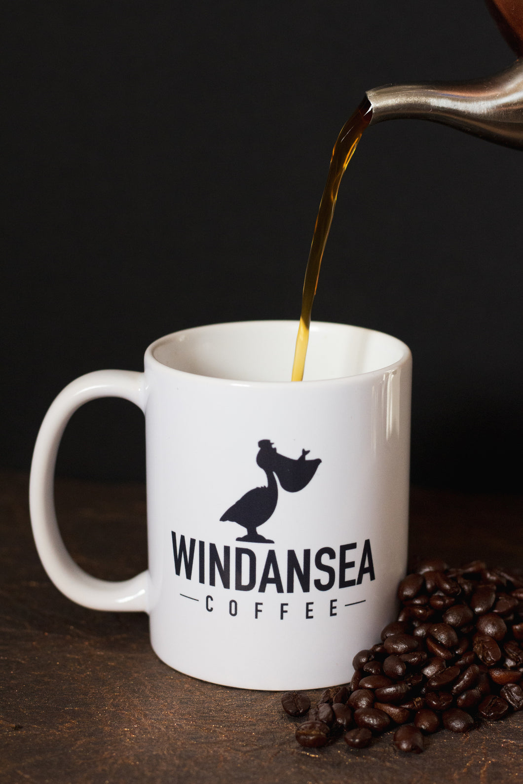 Windansea Ceramic Coffee  Mug