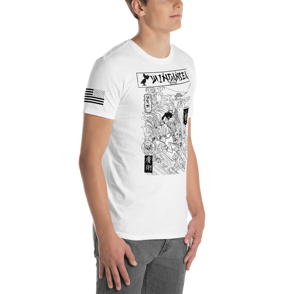 Surfin Samurai Short-Sleeve Unisex T-Shirt