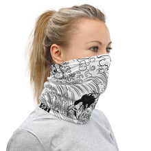 Load image into Gallery viewer, Neck Gaiter Face Mask -Surfin Samurai