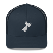 Load image into Gallery viewer, Embroidered Windansea Pelican Trucker Cap - Low Crown - FREE SHIPPING!!