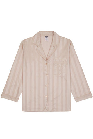 Shadow stripe pyjama shirt