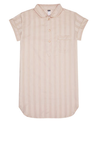 Shadow stripe s/s nightshirt
