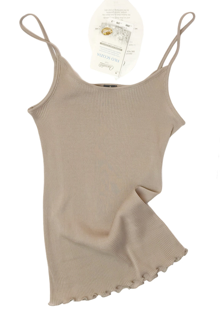 Cotton Rib Camisole