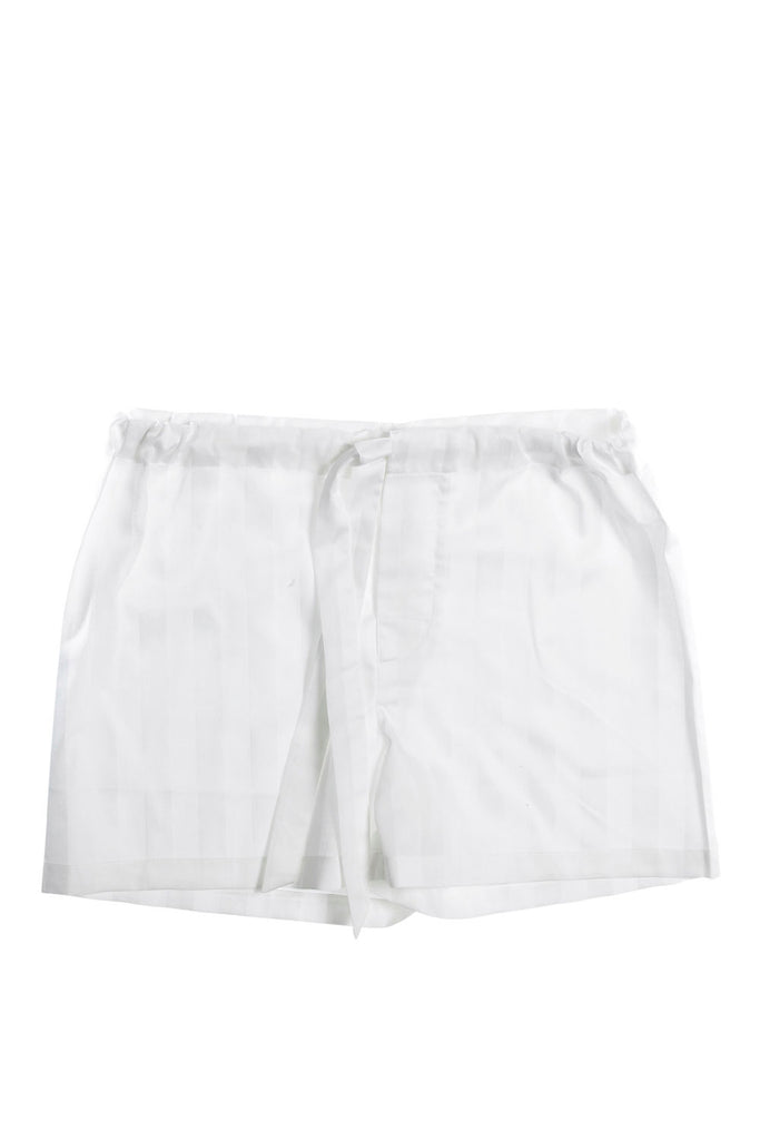 Shadow stripe pyjama shorts