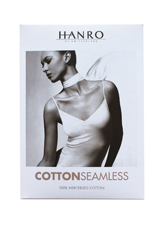Cotton seamless V neck camisole