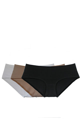 Cotton velvet hip panty