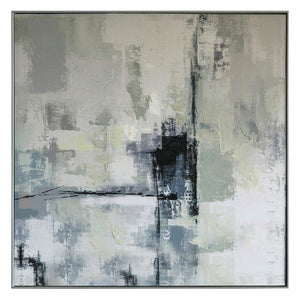 Abstract Hazy City Skyline - Part I - wall art