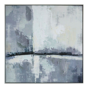 Abstract Hazy City Skyline - Part II - wall art