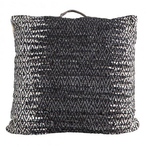Arya Charcoal Grey Floor Cushion - Floor Cushion
