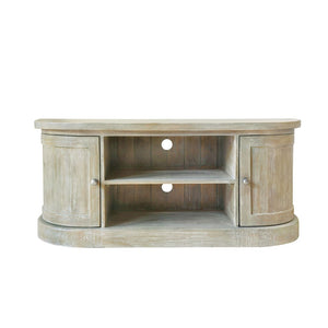 Ashford Lime-Washed Pine TV Unit - TV Stand