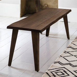 Bicester Dark Oak Dining Bench - Dining Bench