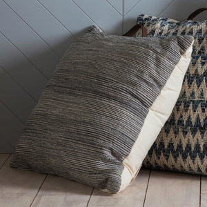 Cala Natural Grey Floor Cushion - Floor Cushion
