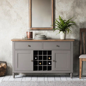 Cotswolds Grey Oak Sideboard - sideboard