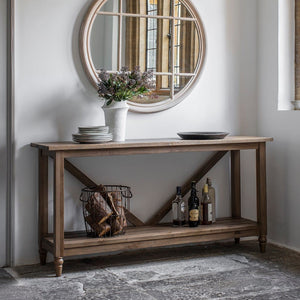 Cotswolds Oak Console Table - Console Table