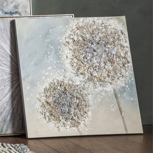 Dandelion Textured Canvas Art II - wall art