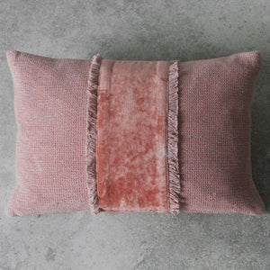 Dusky Blush Pink Cushion - Cushion
