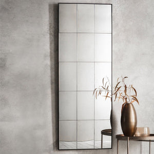 Easton Aged Glass Tall Panel Mirror - Mirror