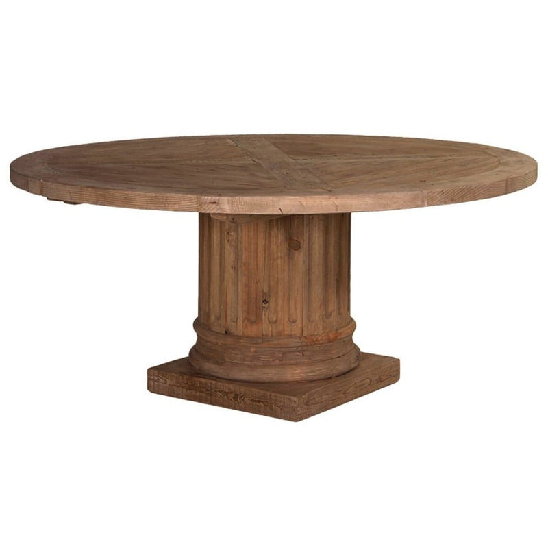 on sale 63719 2fab2 Echo Round Timber Dining Table